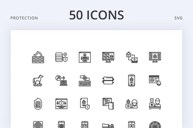 Data Protection Icons