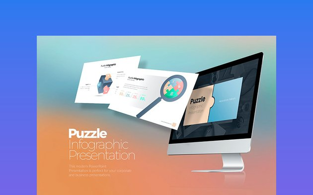 Puzzle Infographic PowerPoint