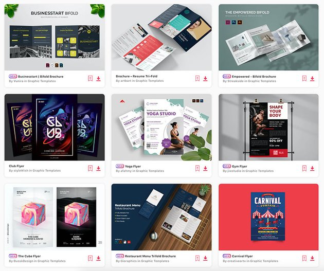 Choose between hundreds of the best brochure design templates at Envato Elements.
