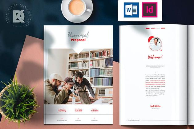 Universal Proposal Brochure (INDD, DOCX)