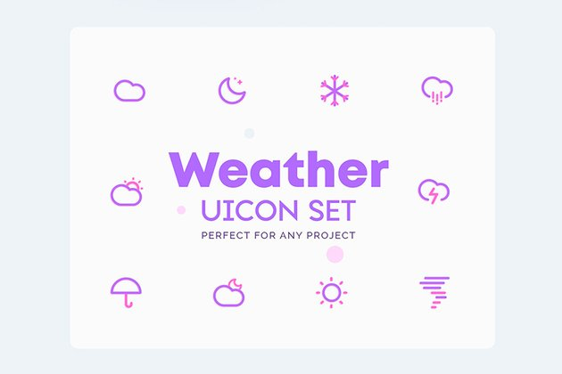 UICON Weather Icons