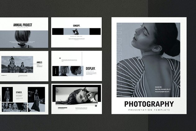 This new photography PPT template will be great for your photography presentation.