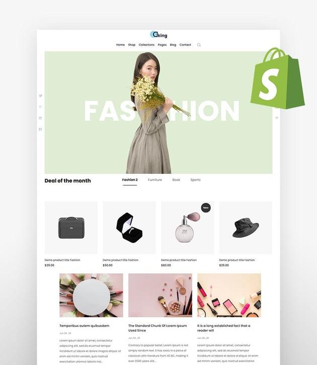 Dking  Multipurpose eCommerce Shopify Theme