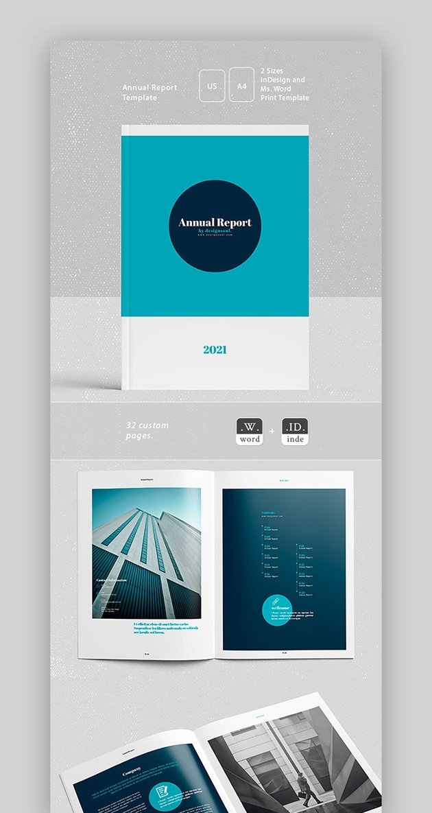 Charity Annual Report Template
