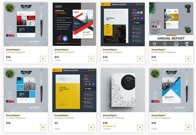 View all the stylish non profit annual report templates that GraphicRiver has to offer.