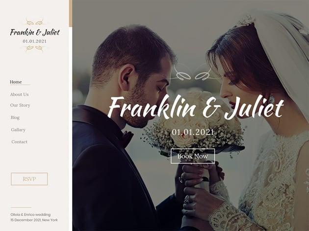 Classic Wedding -WordPress Wedding Theme Free