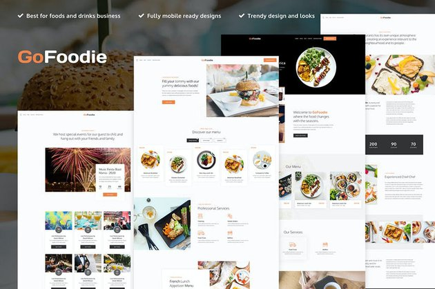 GoFoodie - A Premium Template Kit for Elementor