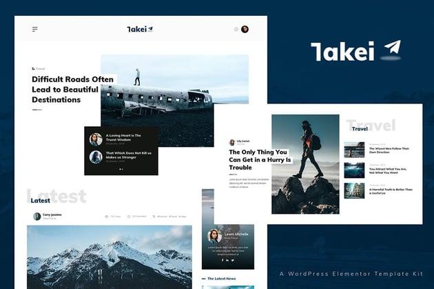 Takei - News & Magazine Template Kit