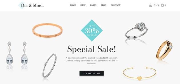 Diamind - WooCommerce Jewelry Theme