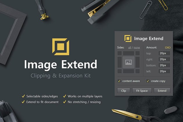 Image Extend - Clipping & Expansion Kit (ZXP)