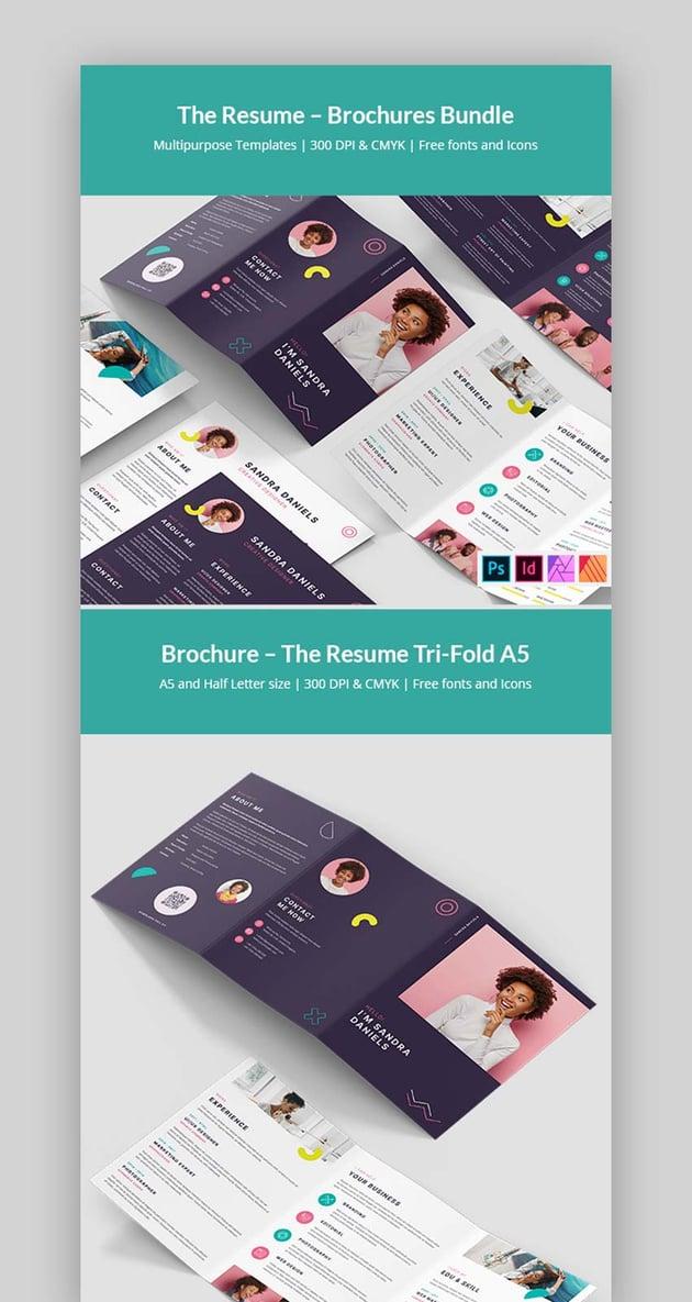 Affinity Publisher Brochure Templates Bundle (INDD, PSD, AFPUB)