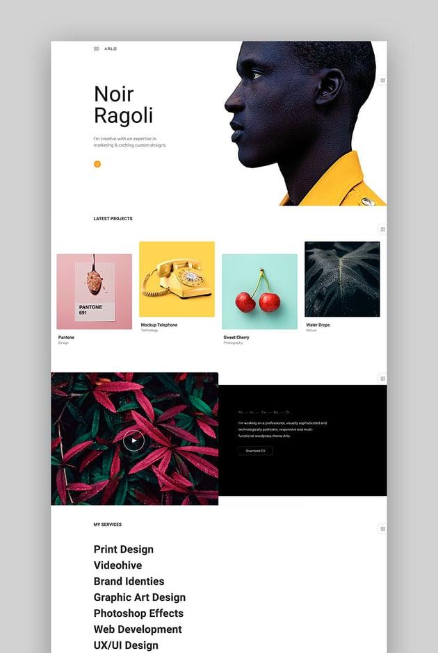 Arlo - Portfolio WordPress Theme
