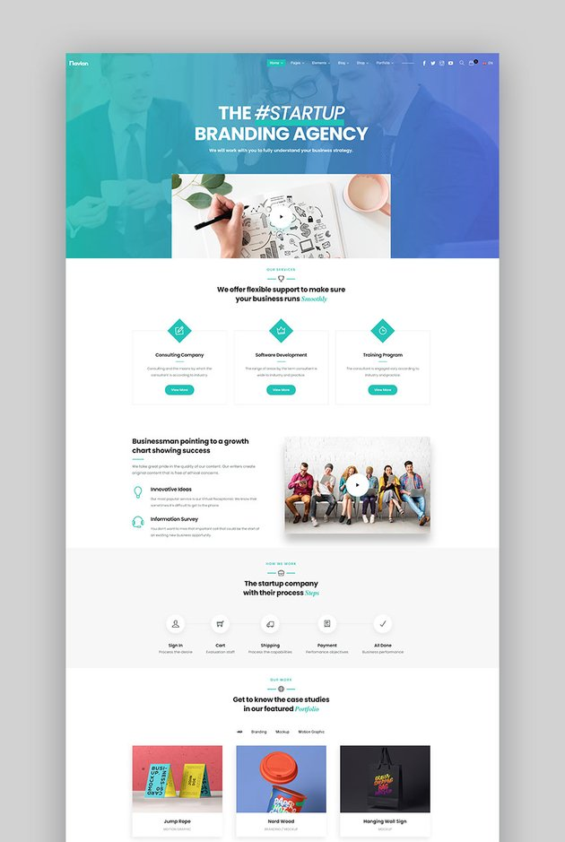 Navian - Multi-Purpose Responsive WordPress Theme