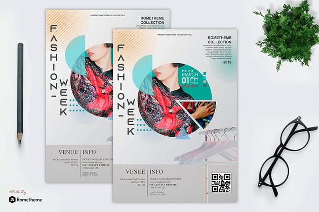 Fashion Modern Flyer Vol. 02 (PSD)