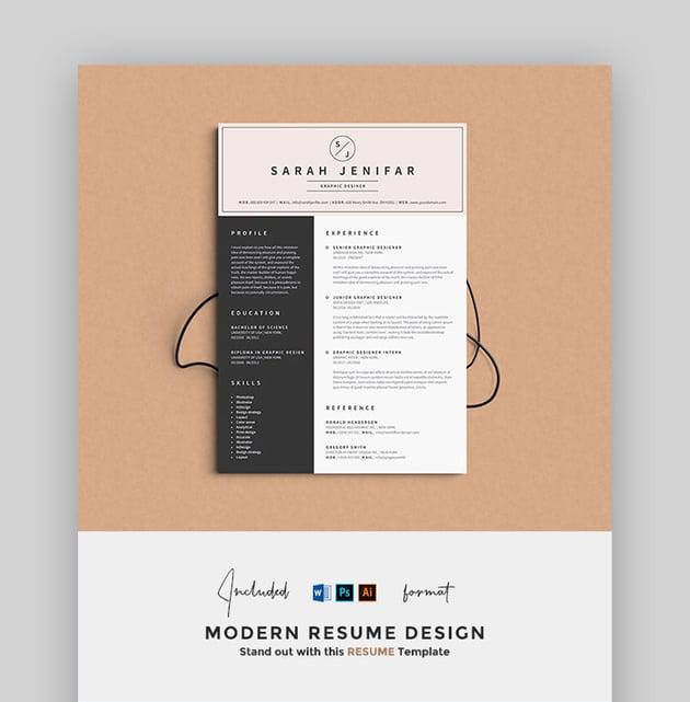 Resume - Sophisticated Resume Design