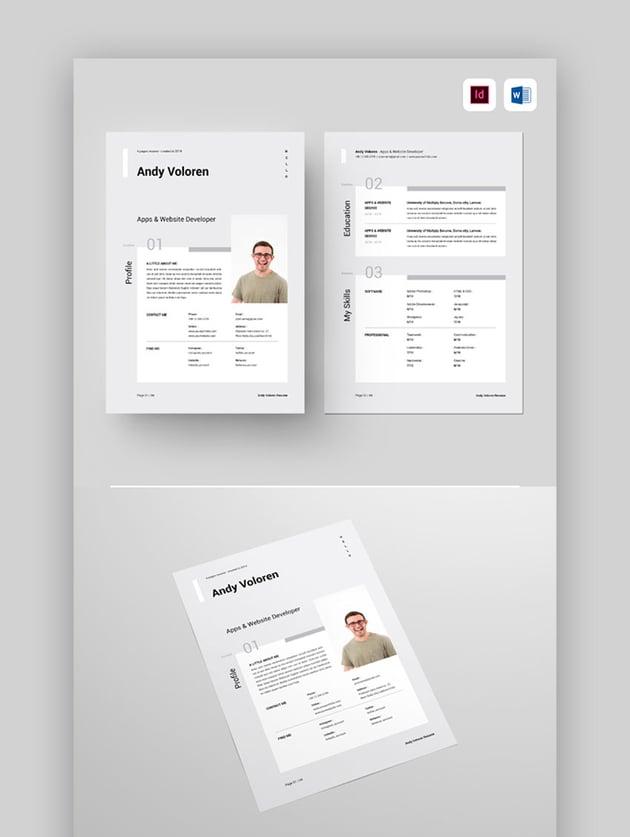 Resume - Beautiful Resume Example