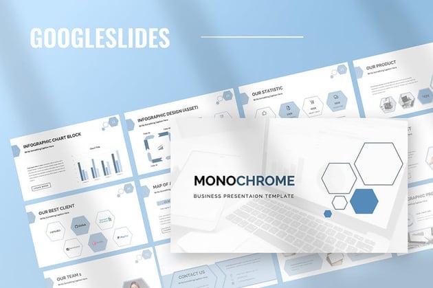 Monochrome - Google Slides Presentation