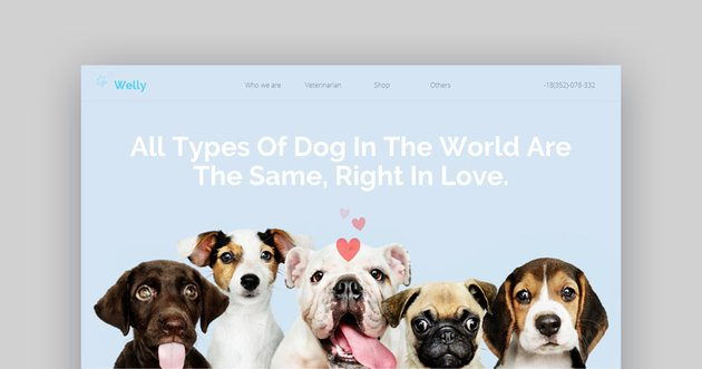 Welly Veterinary PowerPoint Template