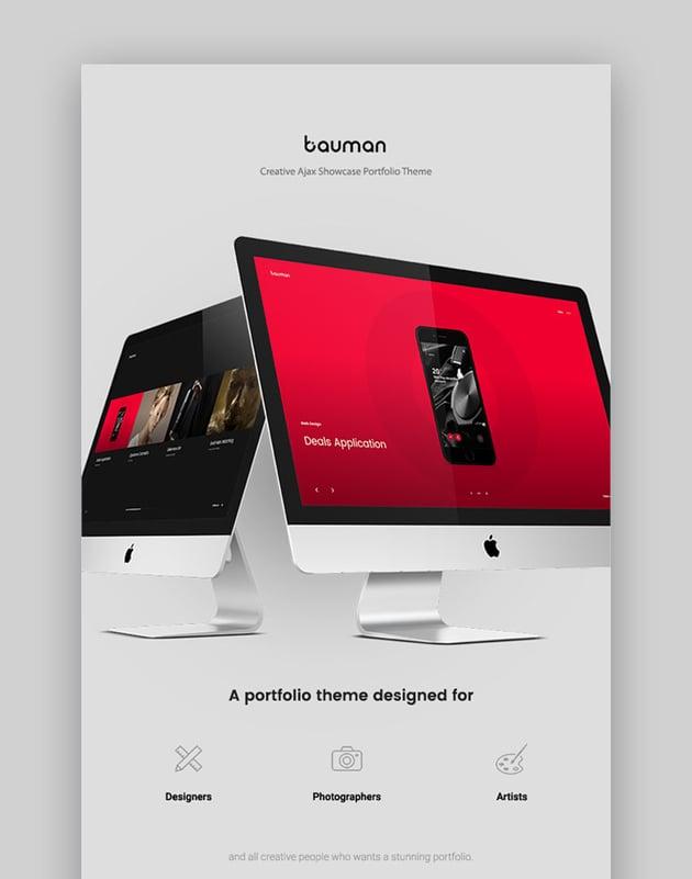 Bauman - Creative Portfolio Theme