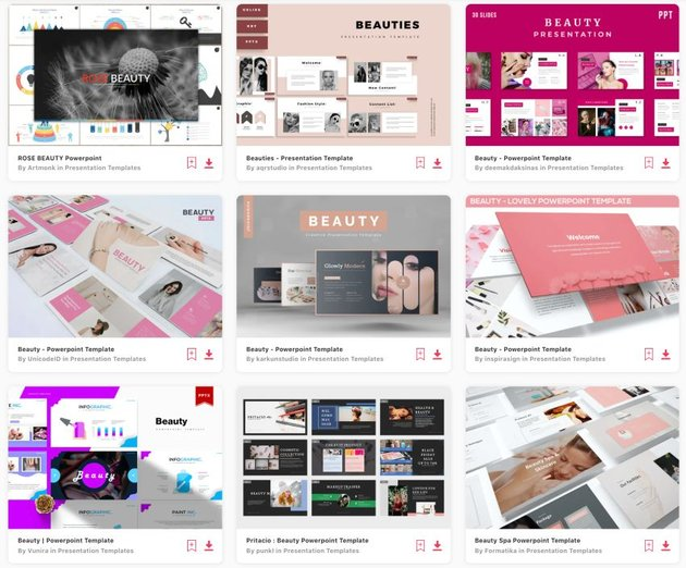 Enjoy unlimited downloads of pretty PPT templates from Envato Elements