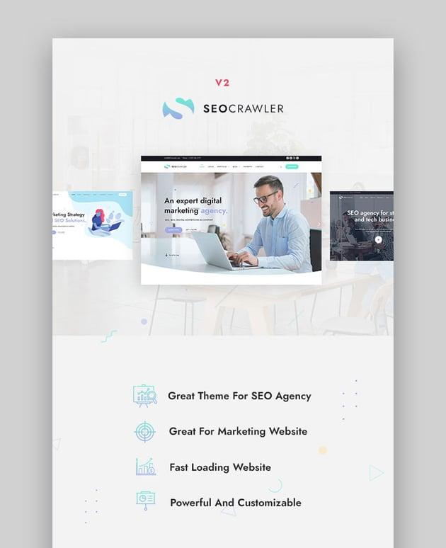 SEOCrawler - SEO  Marketing Agency WordPress