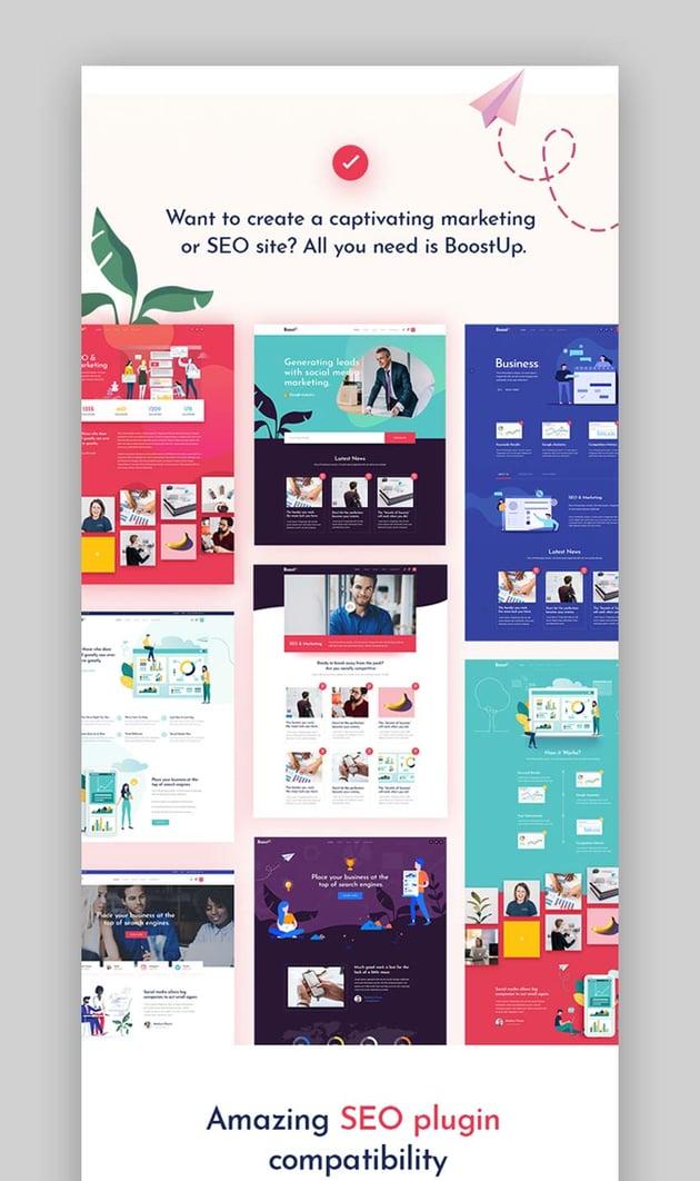 BoostUp - SEO Marketing Agency Theme