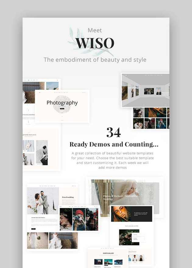 Wiso Photography Theme