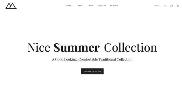Mira - Minimalist Shopify Store Theme