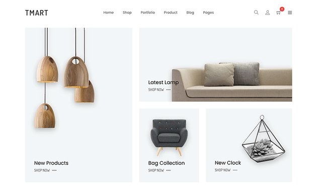 Tmart -  Minimalist Shopify Store Theme