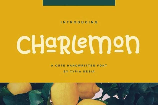 Charlemon Cute Font