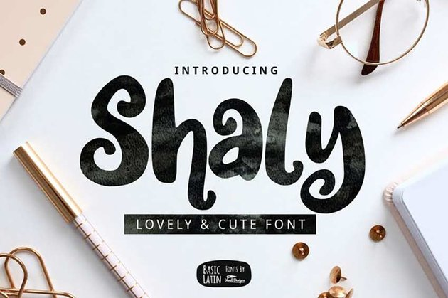Shaly Cute Font