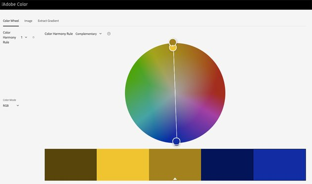 Adobes Color Wheel is a great resource