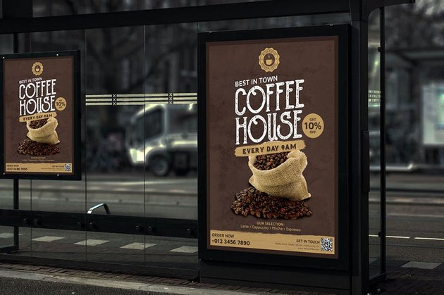 Retro Coffee - Product Flyer RB