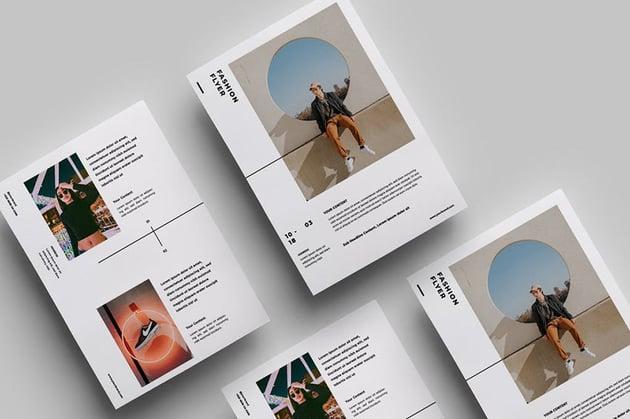 Minimalist Flyer Design08