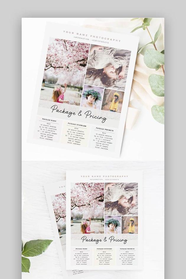 Creative Photography Flyer Marketing