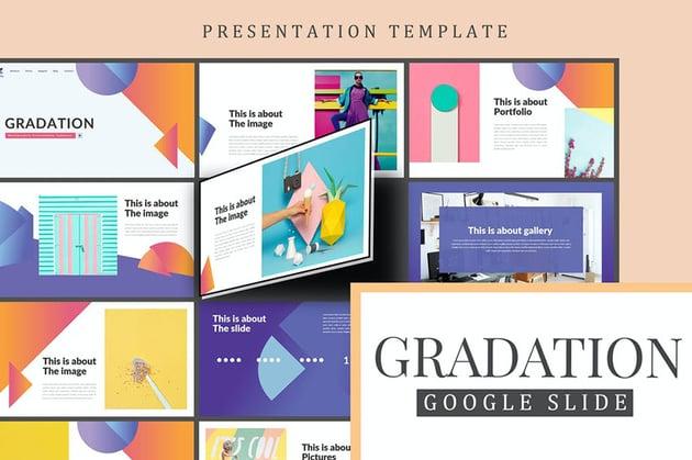 Gradation Beautiful Creative Google Slides