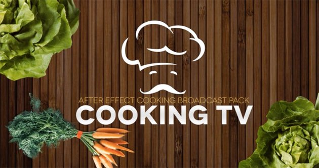 Cooking TV - After Effects Cook Broadcast Pack