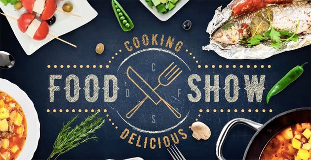 Cooking Delicious Food Show for Premiere Pro and After Effects