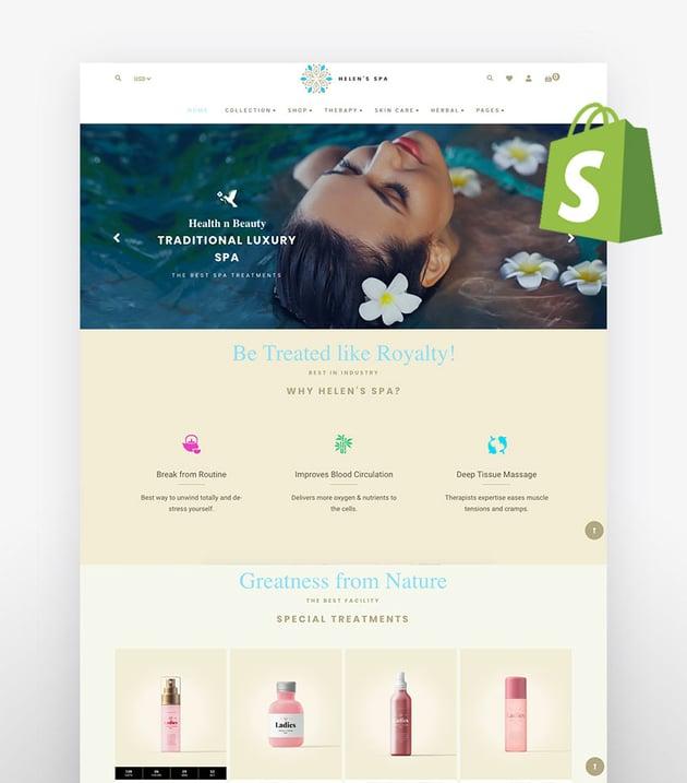 Helen - Shopify Health Beauty Cosmetic Store