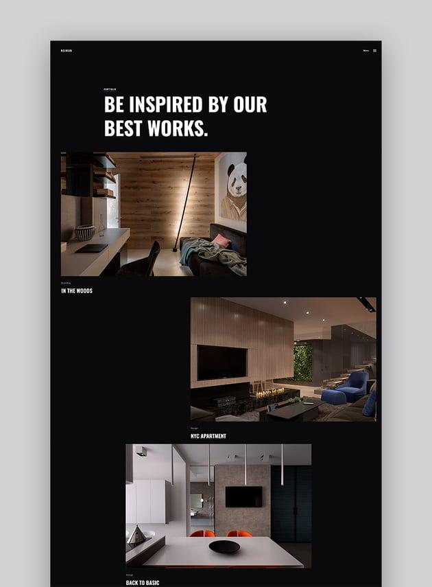 Neiman - Graphic Design Portfolio WordPress Theme