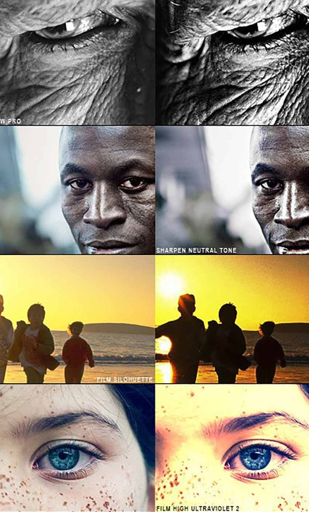 PRO Actions - 30 Film Effect Styles