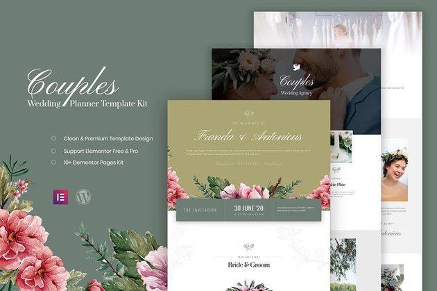 Couples - Wedding Planner Template Kit