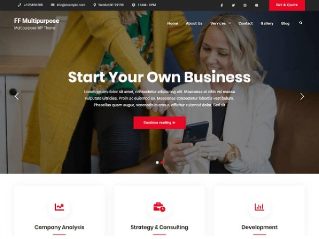 FF Multipurpose Free WordPress Theme