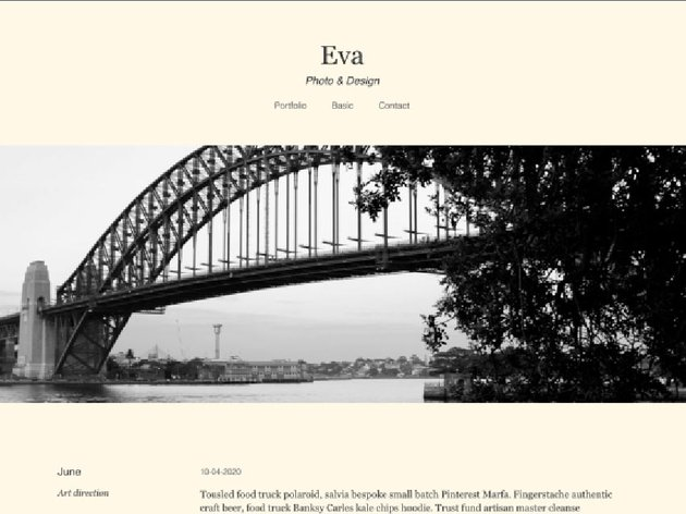 Eva Blog Free Gutenberg Theme