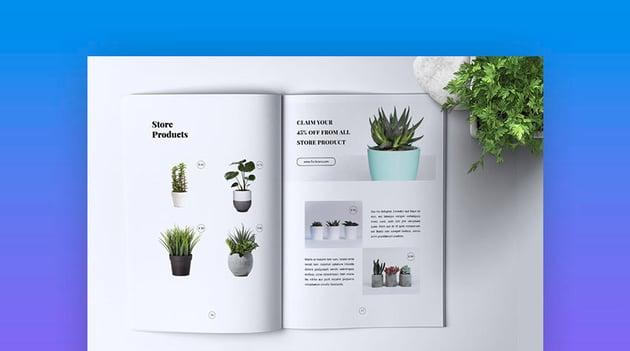 Florist Company Brochure