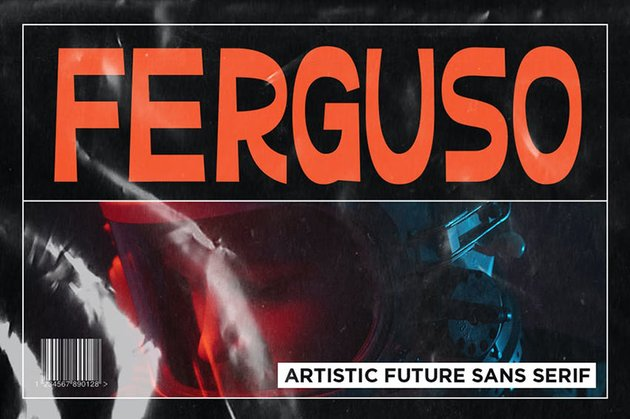 Ferguso - Aesthetic Sans Serif Font