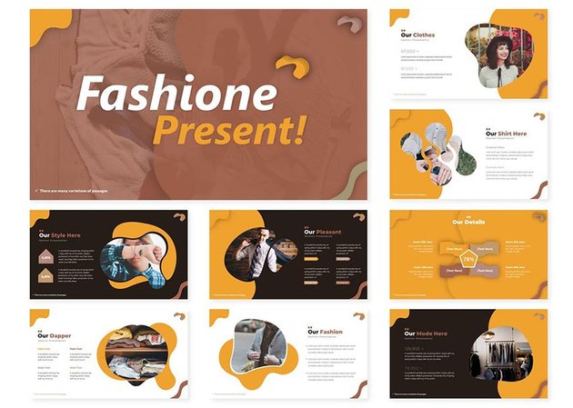 Fashione Powerpoint Template