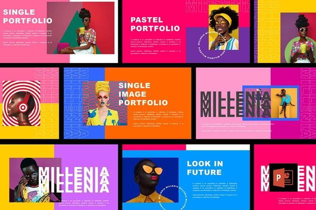 Millenia - Fashion PowerPoint Template