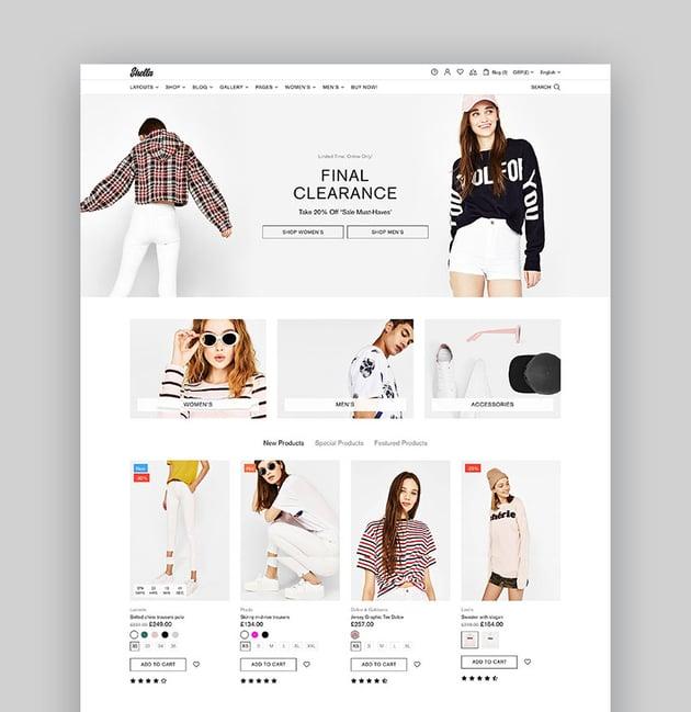 Shella - Multipurpose Shopify Theme
