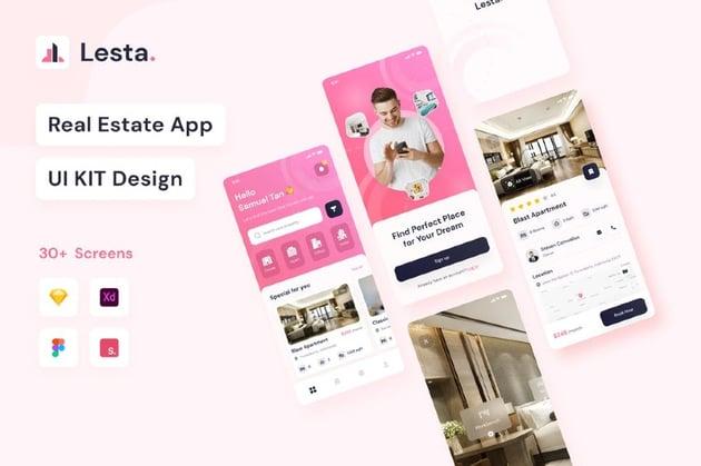 Lesta - Real Estate UI KIT
